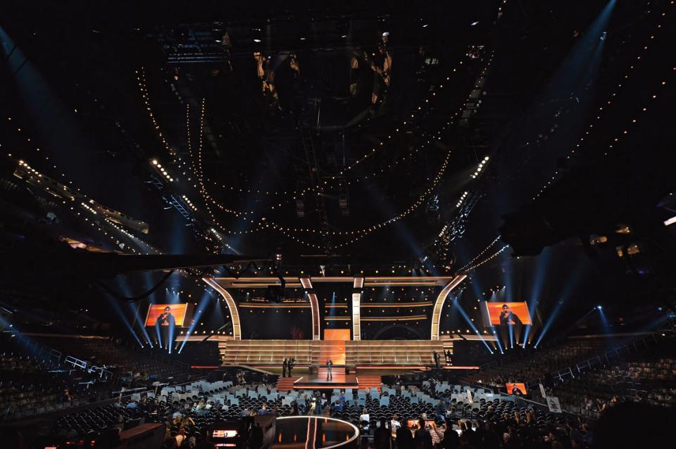 Grammy Awards Stage