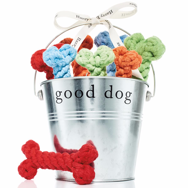 Harry Barker Pail of Chew Toys
